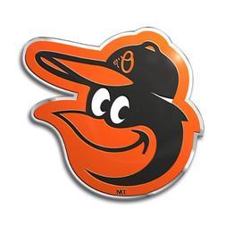 MLB Baltimore Orioles Die Cut Color Automobile Emblem