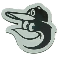 Fanmats MLB Baltimore Orioles Diecast 3D Chrome Emblem Car T