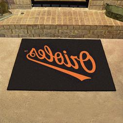 FANMATS MLB Baltimore Orioles Nylon Face All-Star Rug