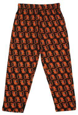 Zubaz MLB Men's Baltimore Orioles Big Logo Print Lounge Pant