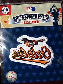 MLB Official Baltimore Orioles Team Emblem Patch 2009
