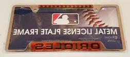 New WinCraft Baltimore Orioles Baseball Metal License Plate