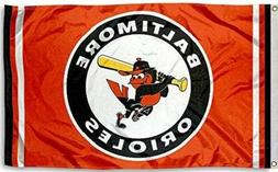 New Baltimore Orioles MLB Large 3x5 Flag Banner Free Shippin