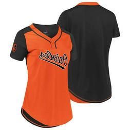 New MLB Baltimore Orioles Majestic Women's Cool Base T-Shirt