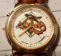 NOS 1995 Bulova Sportstime Baltimore Orioles MLB Baseball Me
