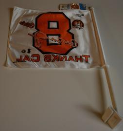 "NWT CAL RIPKEN JR ""Thanks Cal"" Baltimore Orioles CAR FLAG"