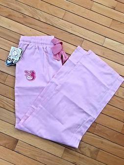 NWT Women's Baltimore Orioles Pajama Pant Sleepwear Pink LAR