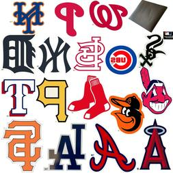 Official Licensed MLB Team Logo 8-inch Indoor/Outdoor Weathe