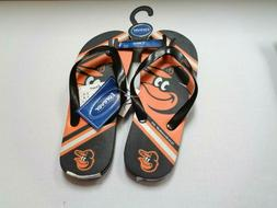 Baltimore Orioles Sandals Unisex NWT Forever Collectibles 20