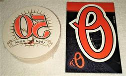 Set of 15 Baltimore Orioles - 1954-2004 50th Anniversary Coa