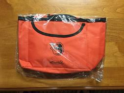 SGA Baltimore Orioles Sealed NIP Orange Backpack Cooler Bag